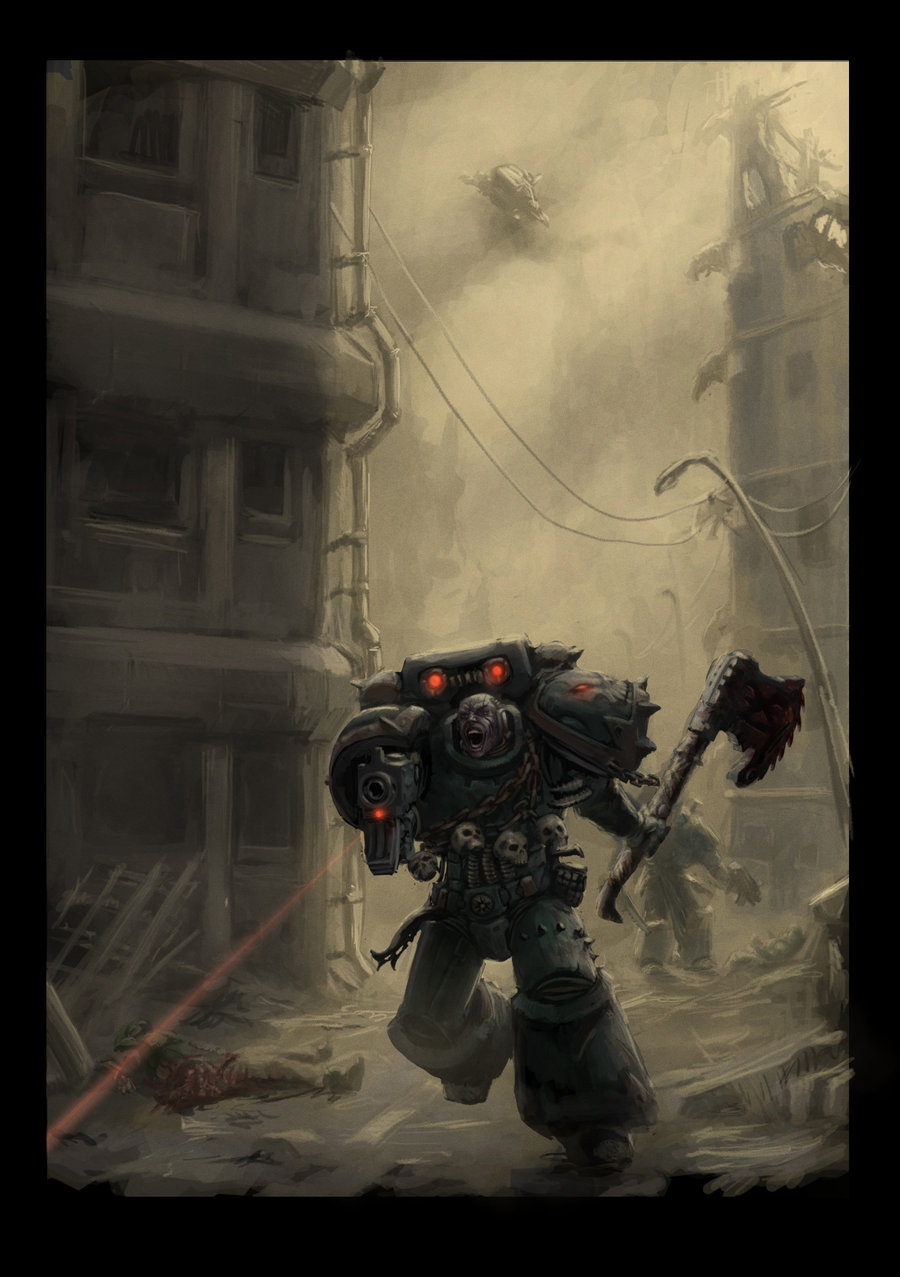 [W40K] Collection d'images : Space Marines du Chaos - Page 5 Chaos_10