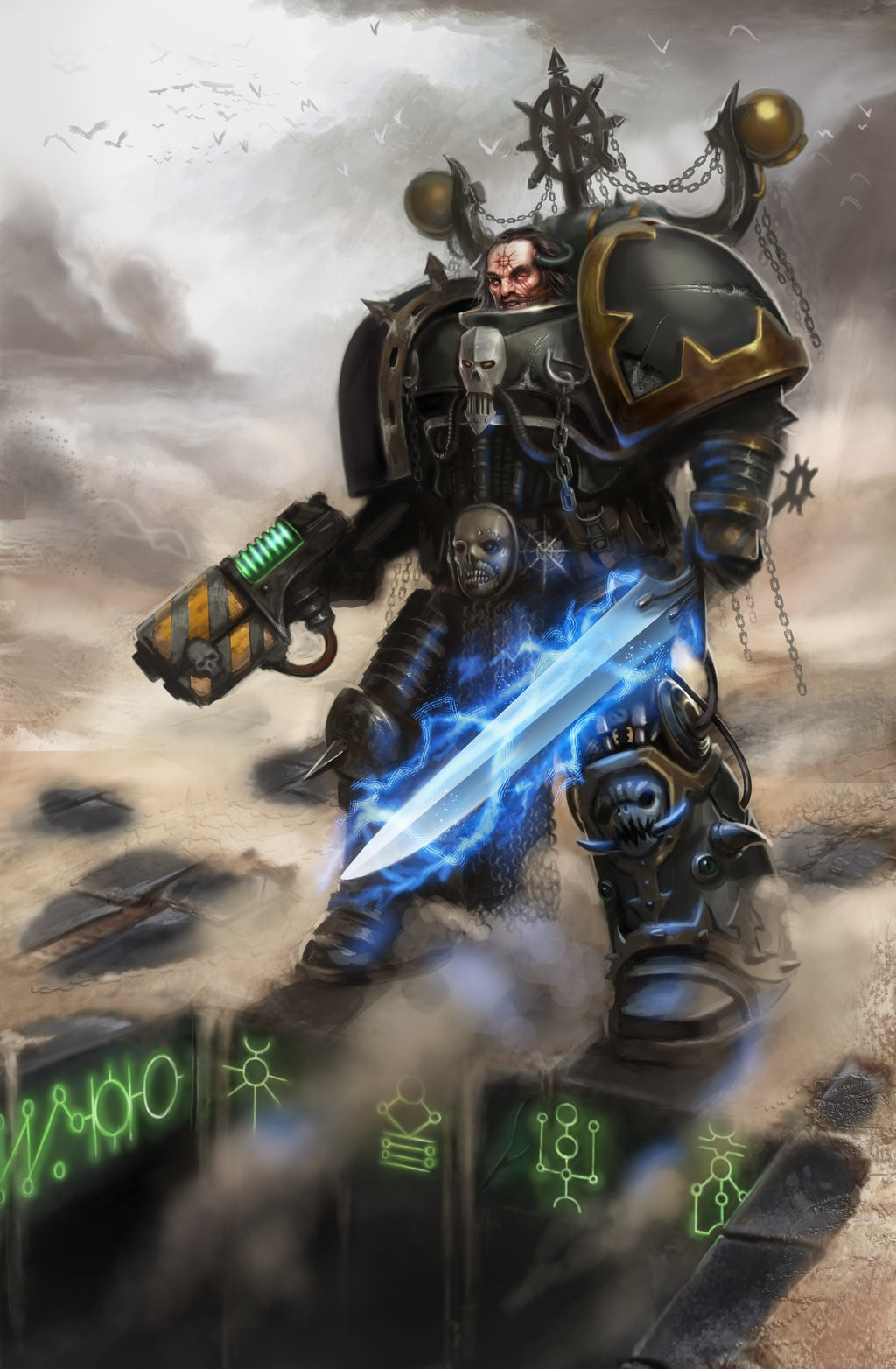 [W40K] Collection d'images : Space Marines du Chaos - Page 5 Hoc_p110