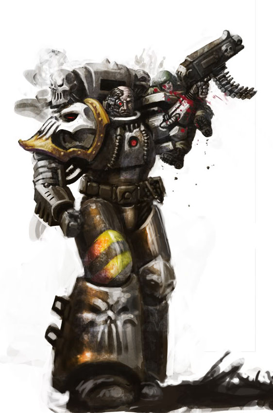 [W40K] Collection d'images : Space Marines du Chaos - Page 5 Iron_w10
