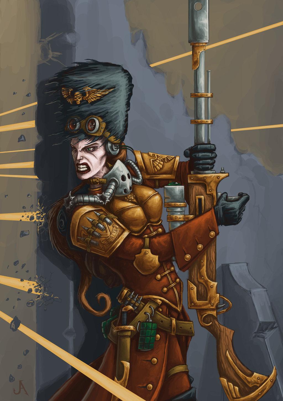 [W40K] Collection d'images : La Garde Impériale - Page 4 Vostro11