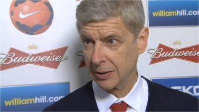 [Division 2, 7eme Journée] Réaction d'après-match - Arsène Wenger (Arsenal) Sans_t23
