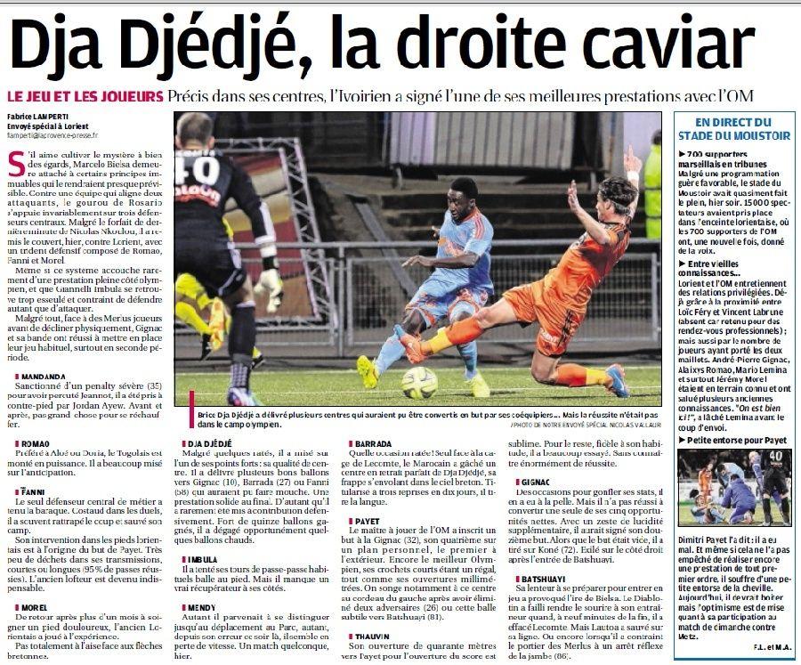 Brice Dja Djédjé. Lateral Ivoirien 23 ans, formé au... PSG - Page 3 8c11