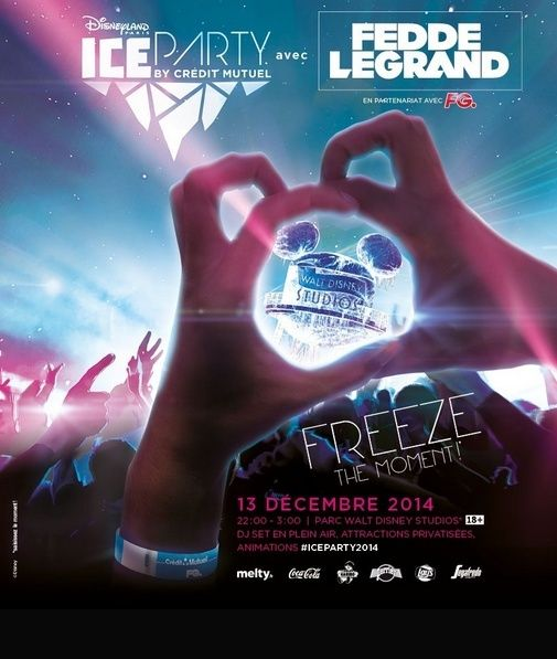 Soirée Ice Party avec Fedde le Grand à DISNEYLAND PARIS Ghet10