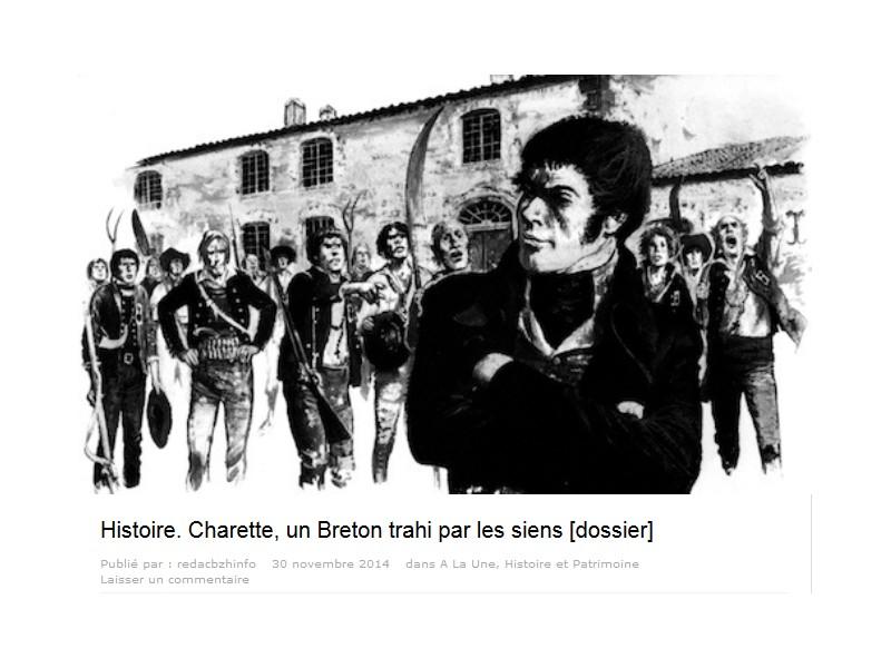 Histoire. Charette, un Breton trahi par les siens 116