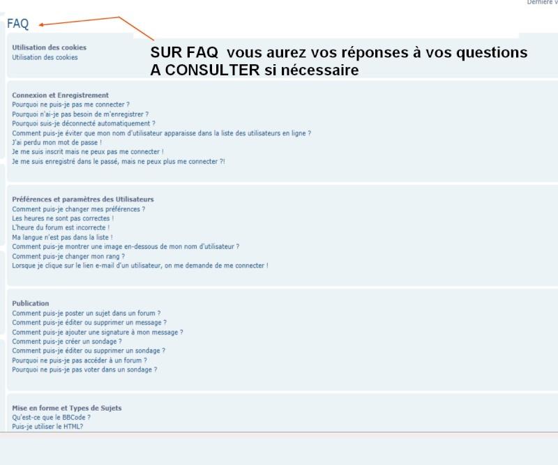 """A QUOI PEUT SERVIR """" FAQ""""  A14"""