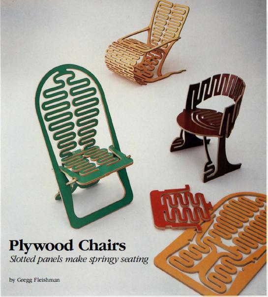 """chaise """"design"""" en CP Chaise10"""