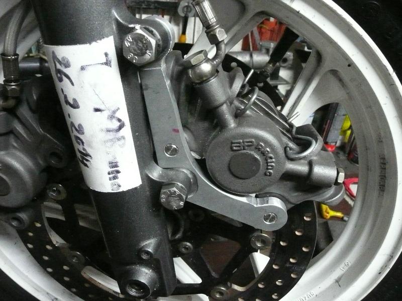 platines de frein - Platines de frein sur mesure Pattes10