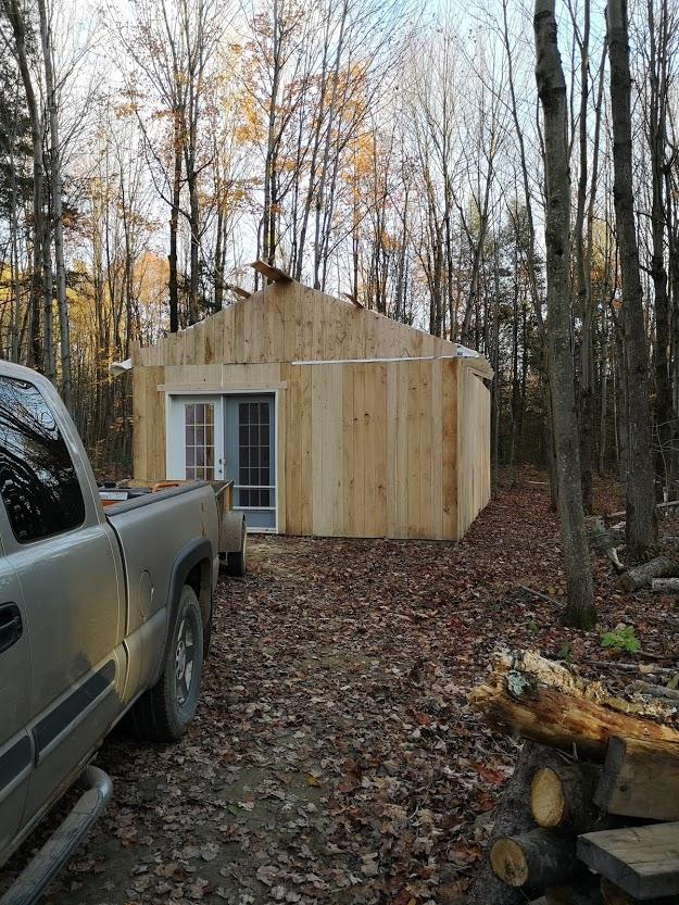 Construction de notre cabane 1010