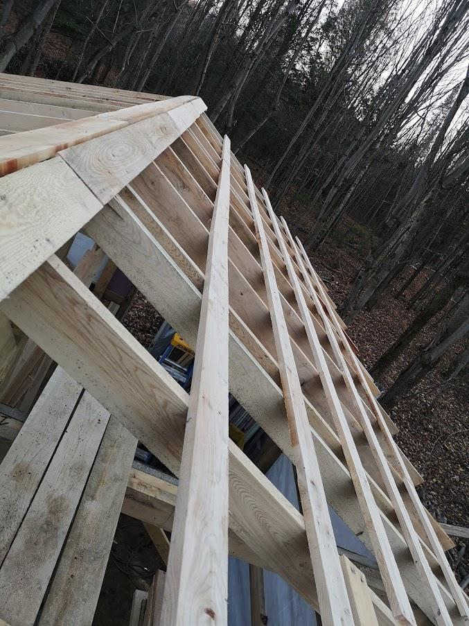 Construction de notre cabane 1110