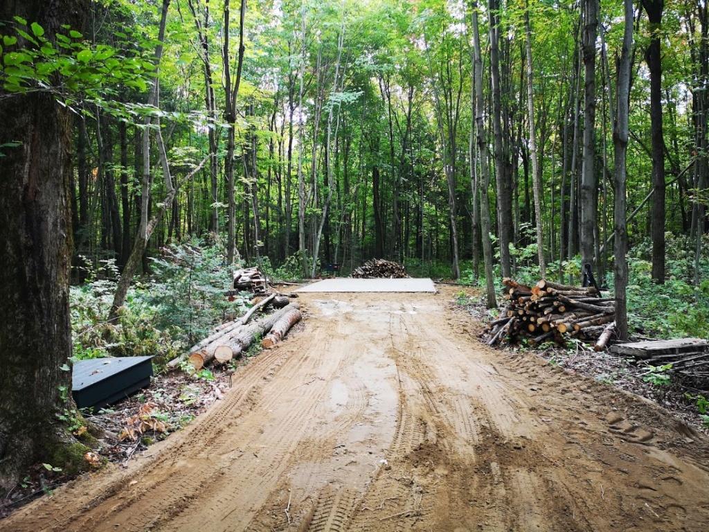 Construction de notre cabane 410
