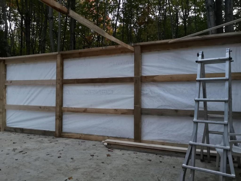 Construction de notre cabane 510