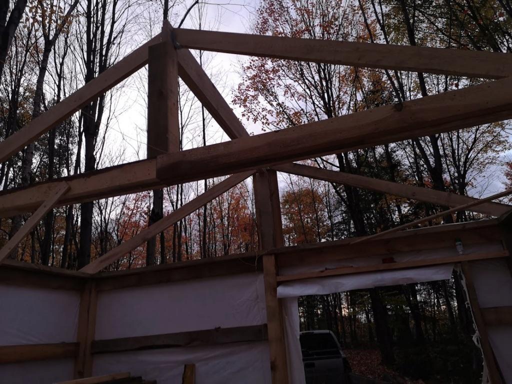 Construction de notre cabane 810