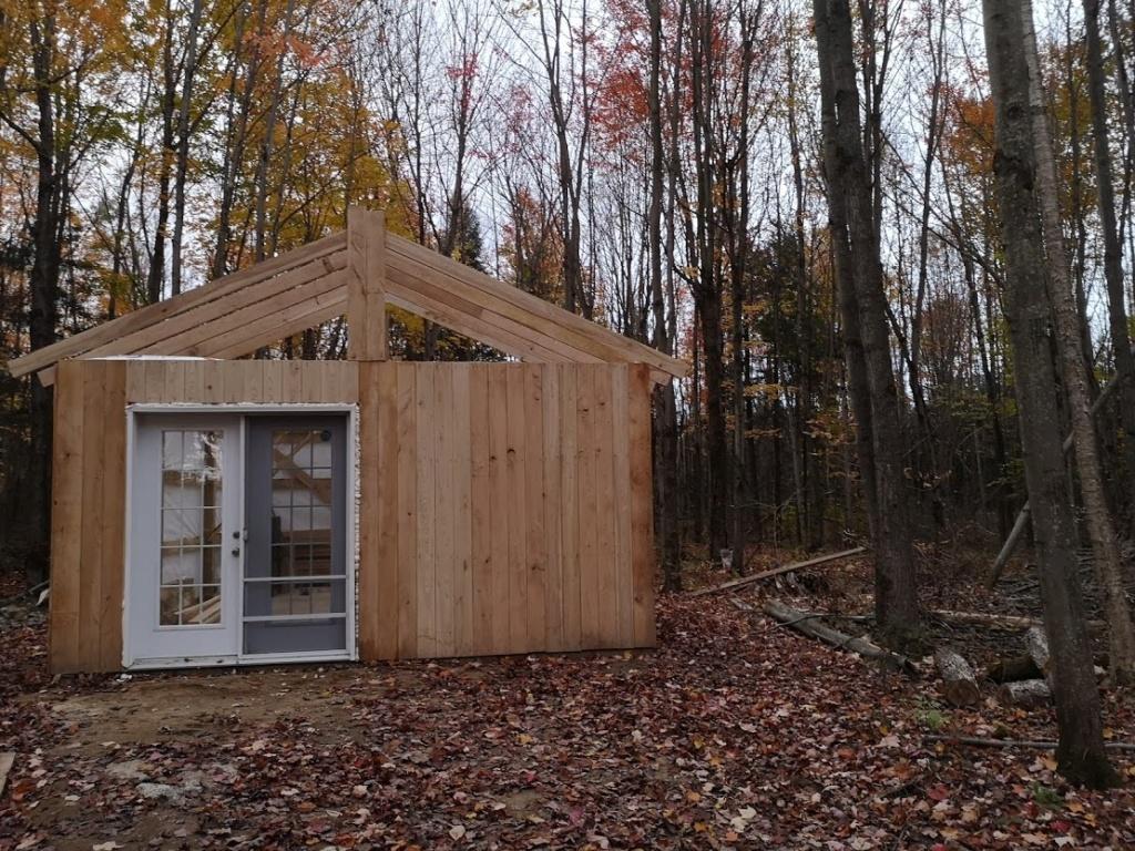 Construction de notre cabane 910