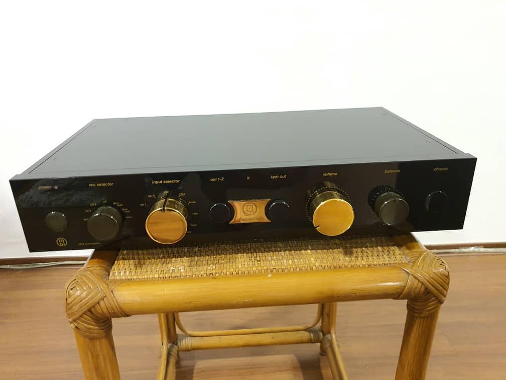 MBL 5010C preamp  Mbl50110