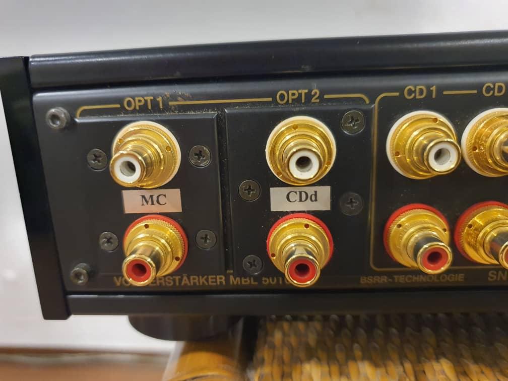 MBL 5010C preamp  Mbl50112