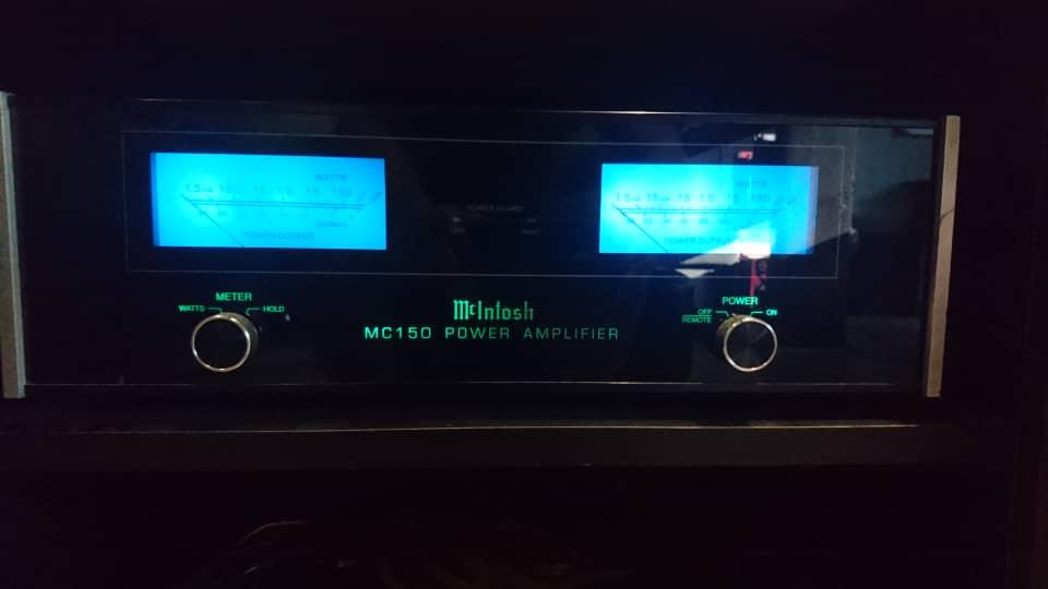 Mcintosh C38 Preamp and MC150 Poweamp - SOLD Mcinto11