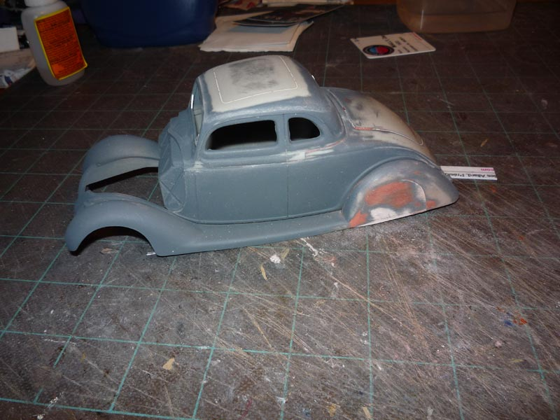 Ford '36 custom Body3611