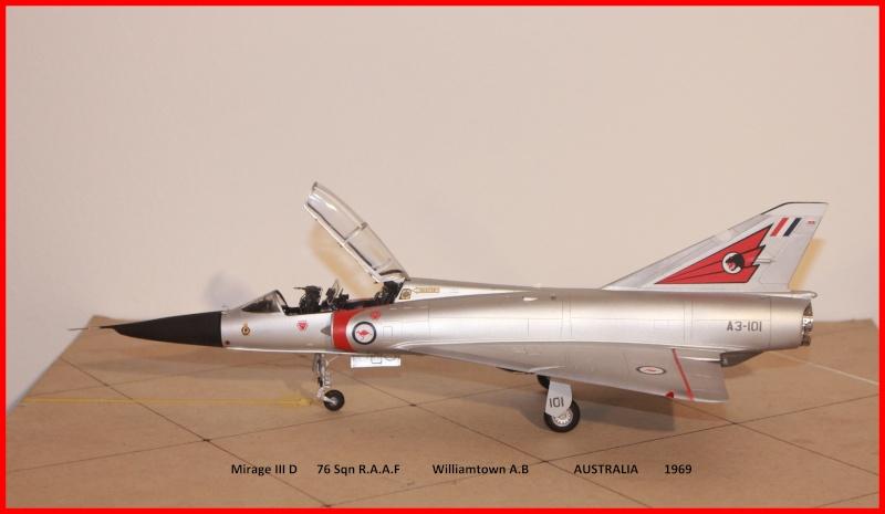 Australian Mirage III D (HELLER  1/48) - Page 2 Ausmir10