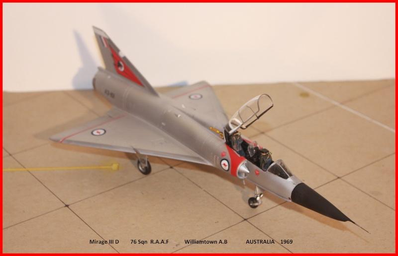 Australian Mirage III D (HELLER  1/48) - Page 2 Aussie10