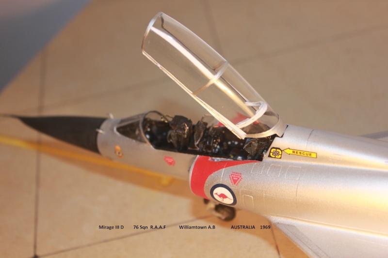 Australian Mirage III D (HELLER  1/48) - Page 2 Aussie11