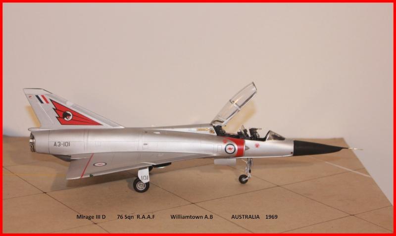 Australian Mirage III D (HELLER  1/48) - Page 2 Aussie12