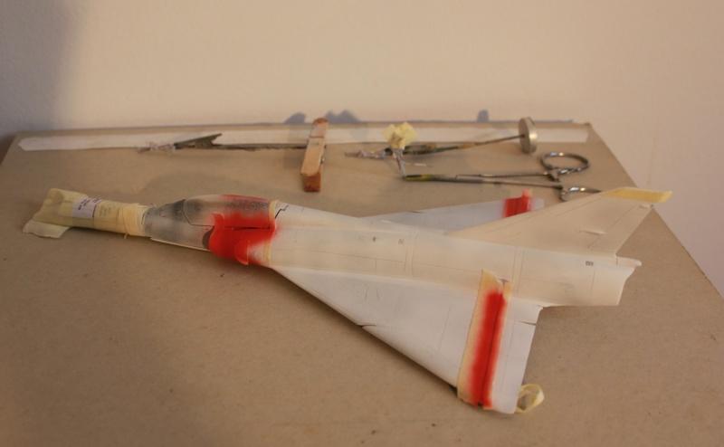 Australian Mirage III D (HELLER  1/48) Img_8212