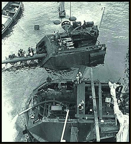 Artillerie cotiere lourde US dans le pacifique A6510