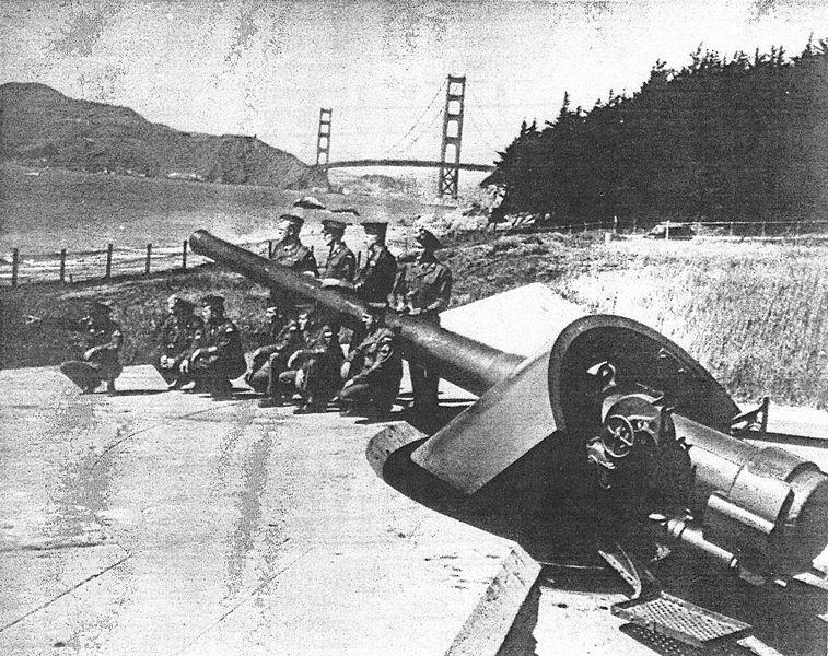 Artillerie cotiere lourde US dans le pacifique A_bat126