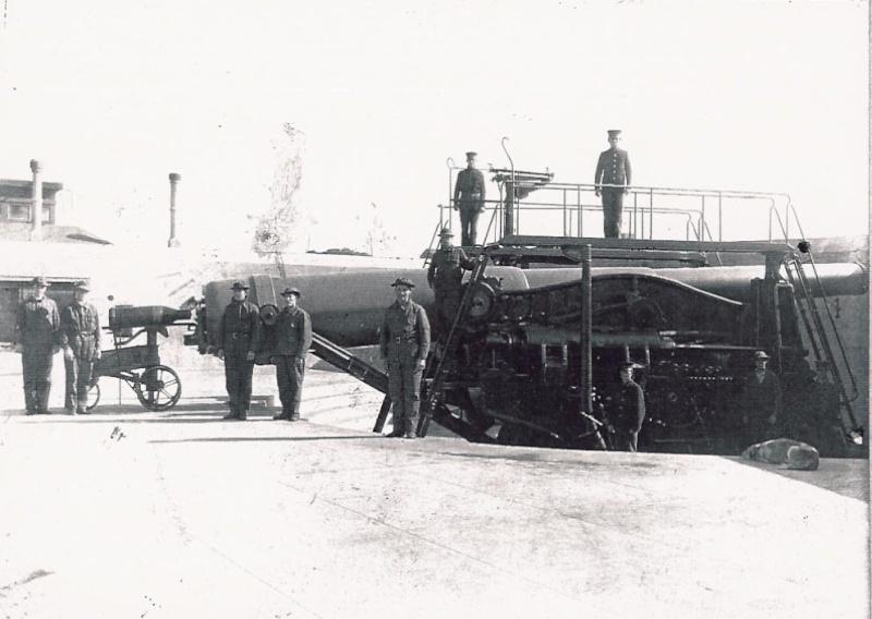 Artillerie cotiere lourde US dans le pacifique A_bat128