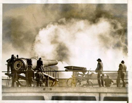 Artillerie cotiere lourde US dans le pacifique A_bat129
