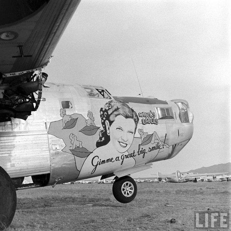 Nose art Bartig11