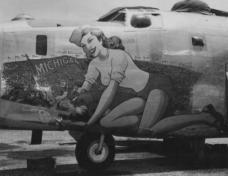 Nose art Bartig13