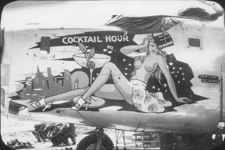 Nose art Bartig16
