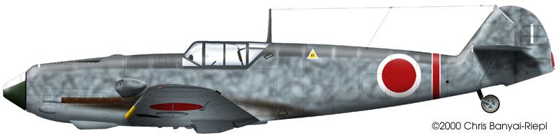 Avions insolites Bf109e10