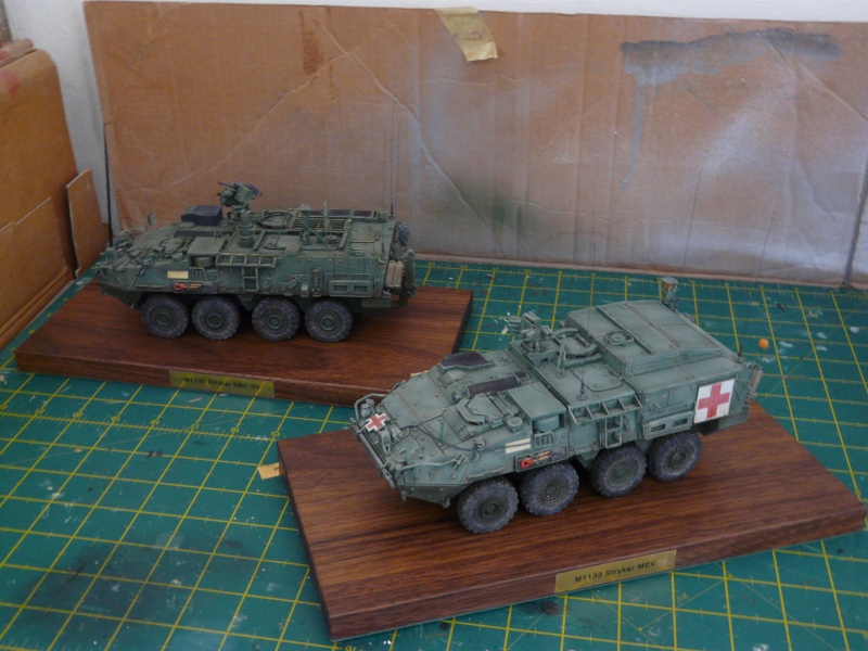 M 1133 Stryker MEV, M 1135 Stryker NBC RV P1130410