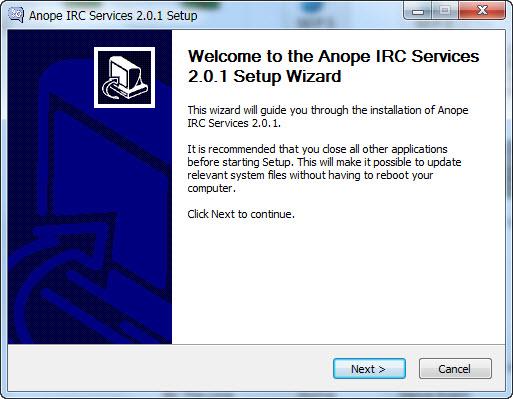 מדריך התקנה ANOPE על Windows 7 10-11-19