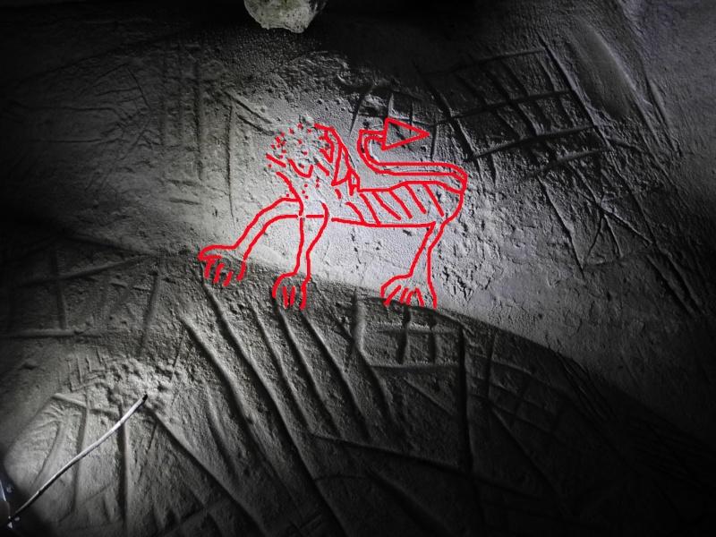 Sortie abris gravés de la forêt de Fontainebleau Lion10