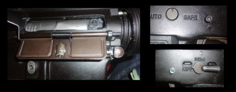 M4 cqb magpulisé, mitaine + masque et chargeur Li-po Souci11