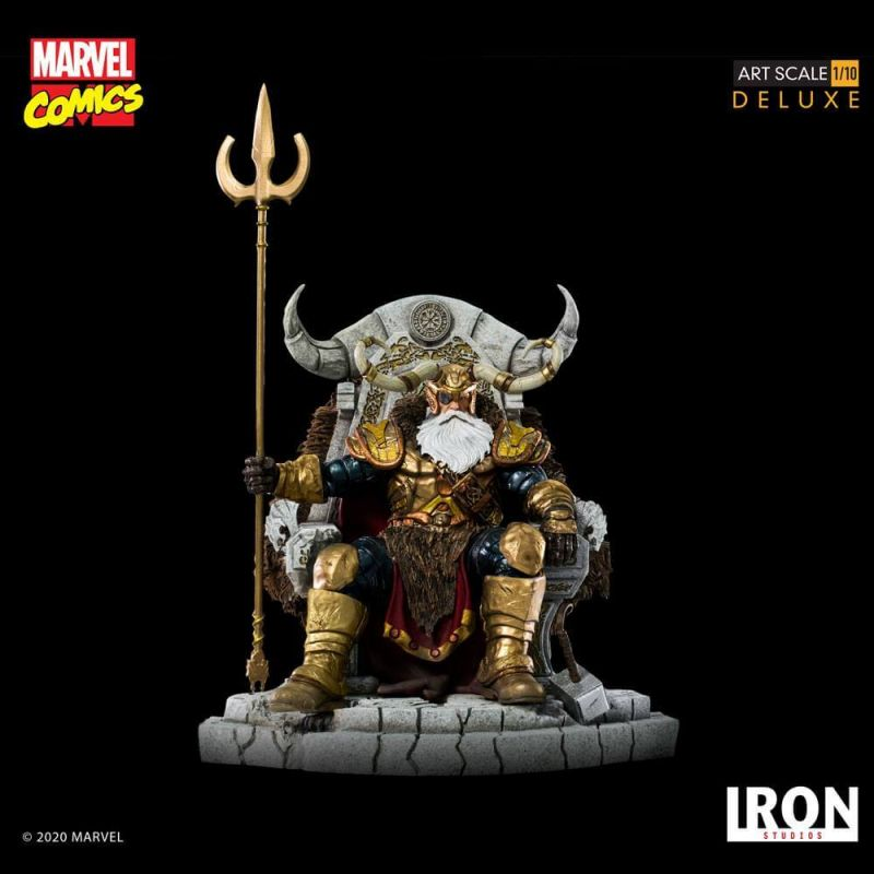 IRON STUDIOS : ODIN Deluxe 1/10 Art Scale Statue Marvel10