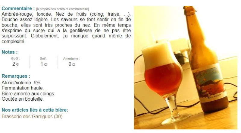 Brasserie des Garrigues Sommières Gard (30) Biyre_10