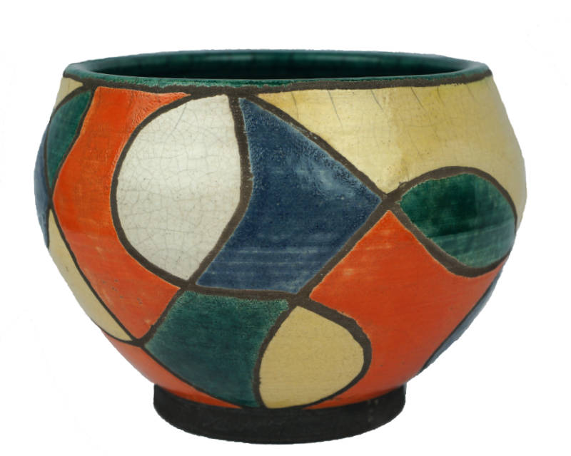 Need Help to ID This Sgraffito Colour Block Studio Pottery Bowl Forum-11
