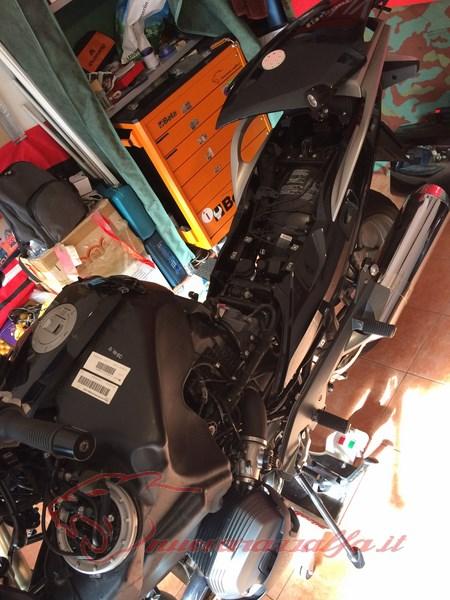 BMW R1200RT frecce Z4, faretti LED & sostituzione lampade alogene. Max45076