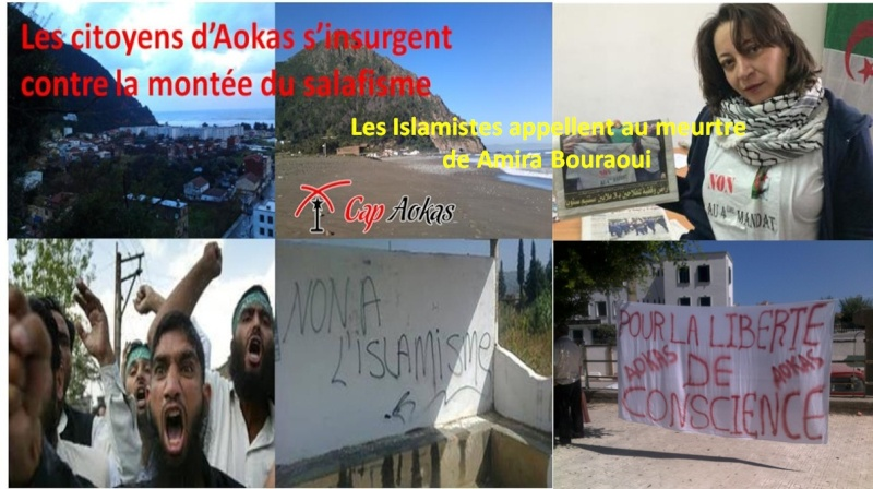 Les Islamistes appellent au meurtre de Amira Bouraoui  310