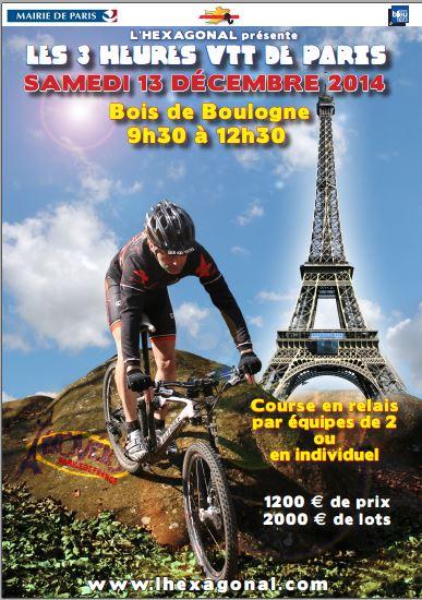 3h Vtt de Paris (75), 13 décembre 2014 3heure10