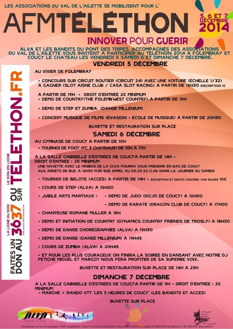 3 heures de COUCY LE CHATEAU 07 decembre 2014 Teleth10