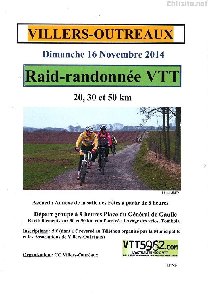 Villers-Outreaux (59), le 16 novembre 2014 Vtt-vi10