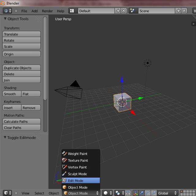 [Débutant] [Blender 2.6 et 2.7] Présentation et découverte de Blender 2.61 Blende26