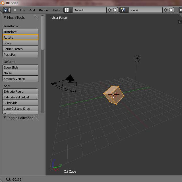 [Débutant] [Blender 2.6 et 2.7] Présentation et découverte de Blender 2.61 Blende31