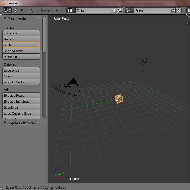 [Débutant] [Blender 2.6 et 2.7] Présentation et découverte de Blender 2.61 Blende32