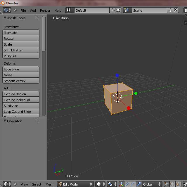 [Débutant] [Blender 2.6 et 2.7] Présentation et découverte de Blender 2.61 Blende38